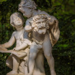 Statue of Two Boys Talking — Stock Photo #48684171