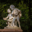 Statue of Two Boys Talking — Stock Photo #48684223