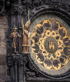 Medieval Astronomical Clock — Stock Photo