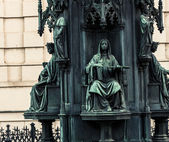 Statue of Emperor Charles IV — Stock Photo