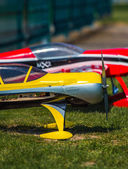 Colorful model aeroplanes — Stockfoto