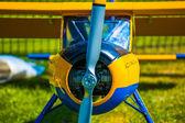 Colorful model aeroplane — Stock Photo