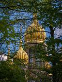 Golden cupola, St Elizabeths Church — Stock Photo