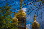 Golden cupola, St Elizabeths Church — Foto Stock