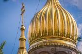 Golden cupola — Stock Photo