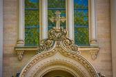 Cross detail on St Elizabeths Church — Stock Photo