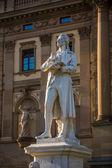 Friedrich Schiller statue — Stock Photo