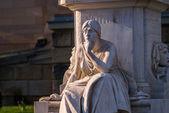 Friedrich Schiller Memorial — Stock Photo