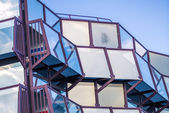 Modern glass fronted building, Wiesbaden — Stock Photo