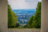 View looking out over Wiesbaden — Foto Stock