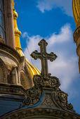 Cross detail on St Elizabeth's Church — Stock Photo