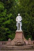 Figural statue in a park, Wiesbaden, Germany — Stock fotografie