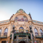 Municipal House in Prague — Stock Photo #48776165