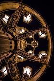 Lantern at the Rudolfinum in Prague — Stock Photo