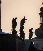 Posągi religijne — Zdjęcie stockowe