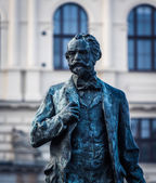 Antonin Dvorak monument — Stock Photo