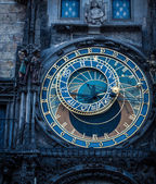 Medieval Astronomical Clock — ストック写真