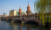 Oberbaumbruecke in Berlin — Stock Photo