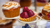 Sweets on a wedding party — Stock Photo