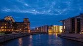 Regering wijk berlijn — Stockfoto