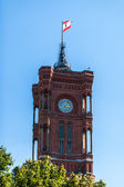 Rotes Rathaus — Stock Photo