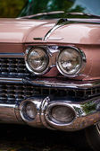 Cadillac headlights — 图库照片