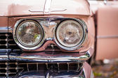Cadillac headlights — Stock Photo