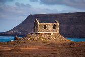 Church ruin on Cape Verde — Stock Photo
