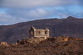 Church ruin on Cape Verde — Stock fotografie