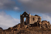 Church ruin on Cape Verde — 图库照片