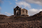 Church ruin on Cape Verde — Стоковое фото