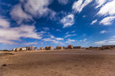 Small town on Boa Vista — Stock Photo
