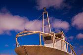 Barco oxidado — Foto de Stock