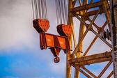 Rusty crane — Stock Photo