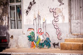 Street art on Cape Verde — Stock Photo