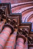 Piliers en briques — Photo