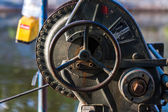 Old industrial crank — Stockfoto