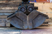 Dredger bucket — Stockfoto