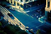Crossing street — Stock Photo