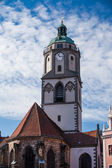 Steeple of the Frauenkirche — Stock Photo