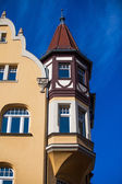 Facade of building in Meissen — Stock Photo