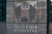 Deutscher Bundestag — Stock Photo