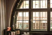 Window with double glazing — Stock Photo