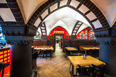 Restaurant in a cellar in Berlin — Foto Stock