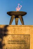 Memorial to Eternal Flame — Stock Photo