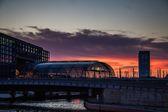 Central railway Station, Berlin — Stock Photo