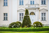 Shrubbery at castle Koepenick Berlin — Stock Photo
