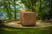 Memorial in a park overlooking Wiesbaden — Stockfoto