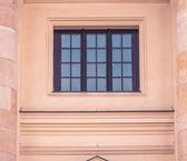 Window between two columns — Stock Photo