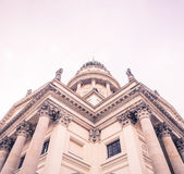 Side of the french cathedral — Stock Photo
